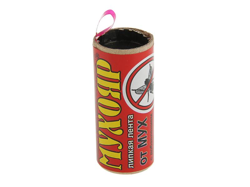 Средство защиты от мух Ваше Хозяйство Липкая лента Мухояр 2320300 липкая лента bondage tape