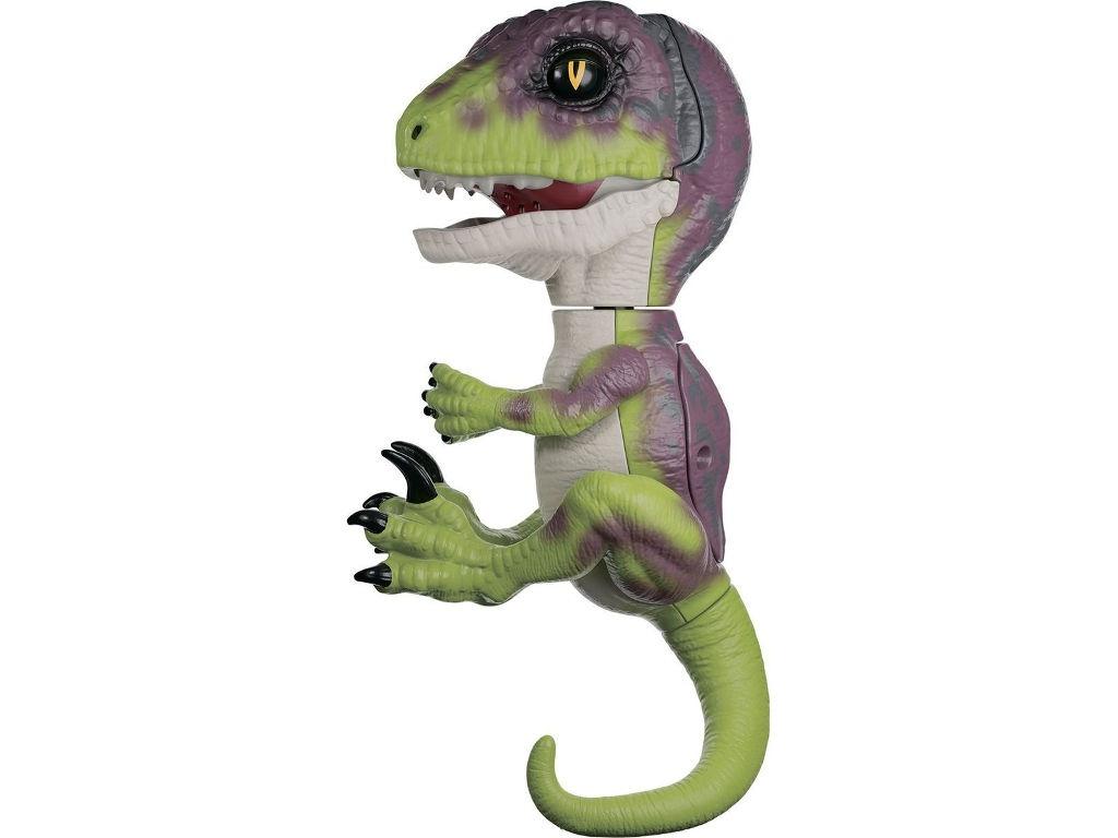 Игрушка WowWee Fingerlings Динозавр Стелс Green-Violet 3782