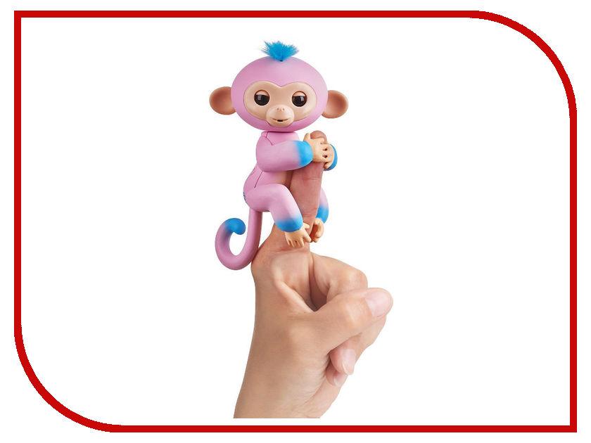 Игрушка WowWeeFingerlings Обезьянка Канди Pink-Blue 3722 игрушка wowwee chip light blue 2804