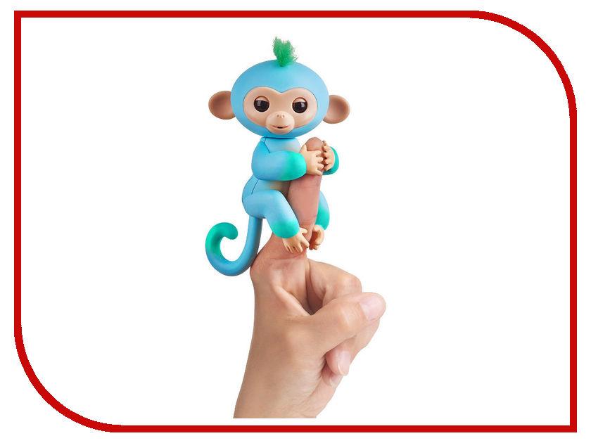 Игрушка WowWeeFingerlings Обезьянка Чарли Blue-Green 3723 игрушка wowwee chip light blue 2804