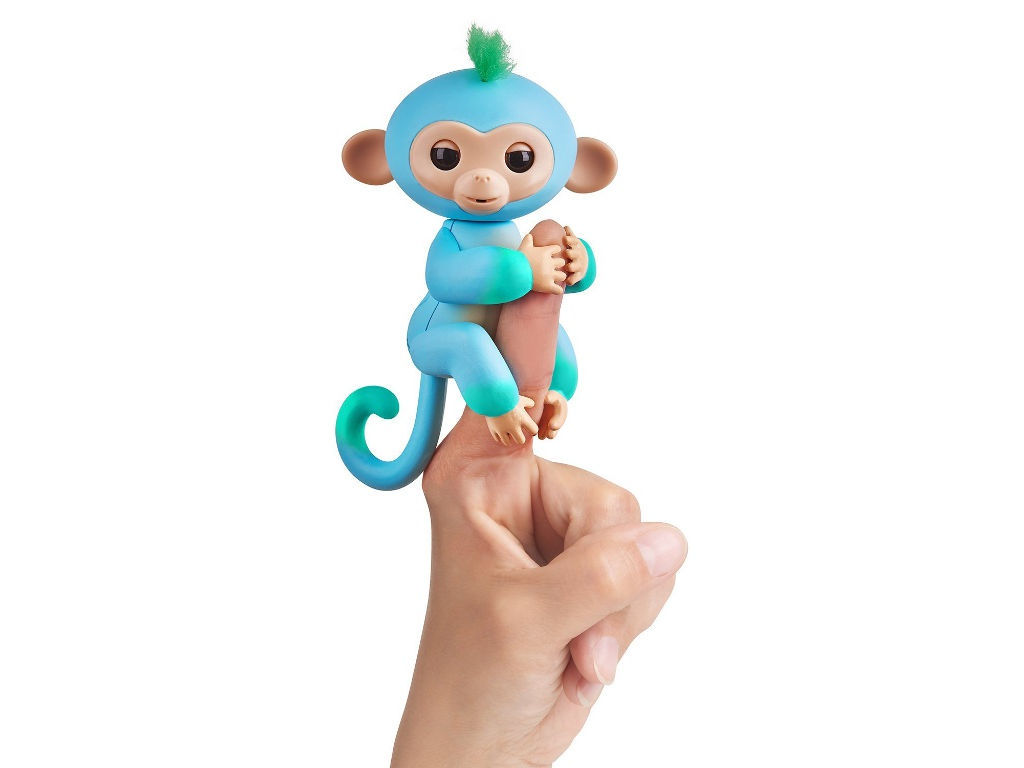 Игрушка WowWee Fingerlings Обезьянка Чарли Blue-Green 3723