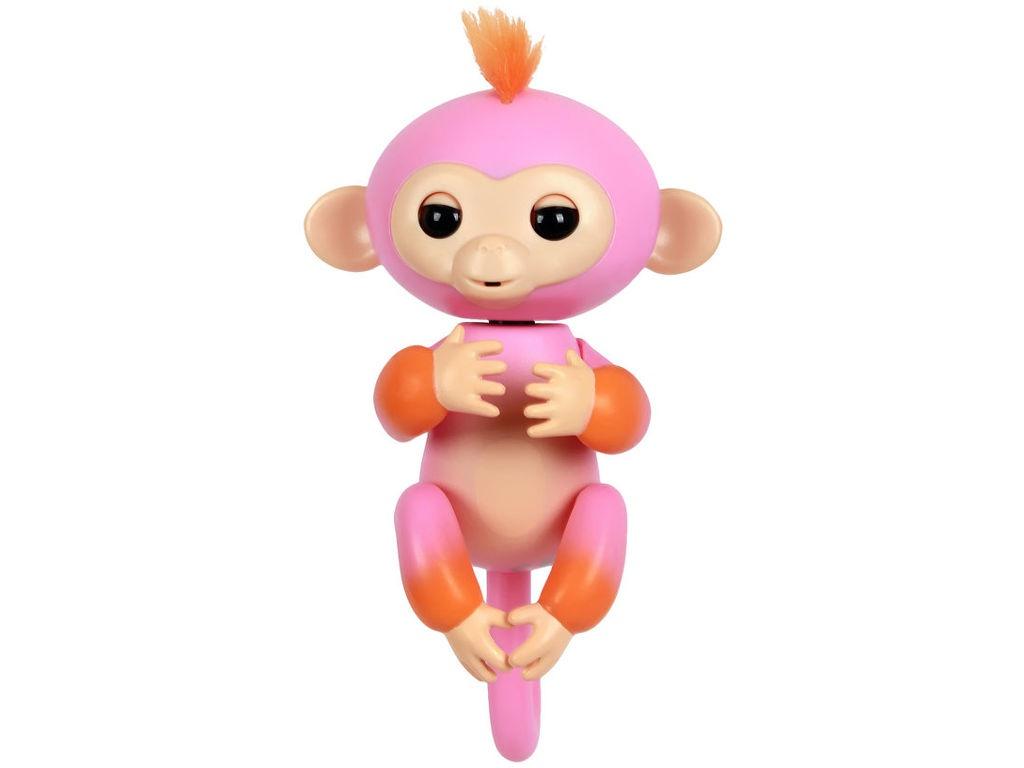 Игрушка WowWee Fingerlings Обезьянка Саммер Pink-Orange 3725