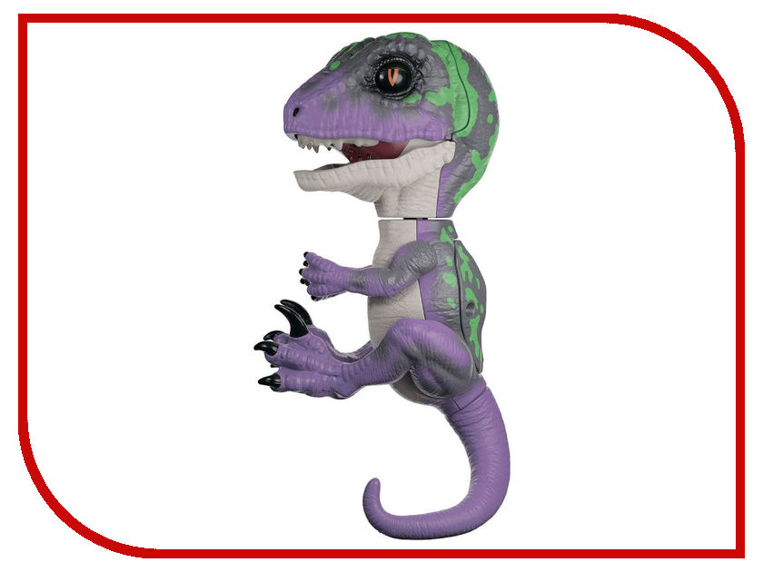 все цены на Игрушка WowWee Fingerlings Динозавр Рейзор Purple - Dark Green 3784 онлайн