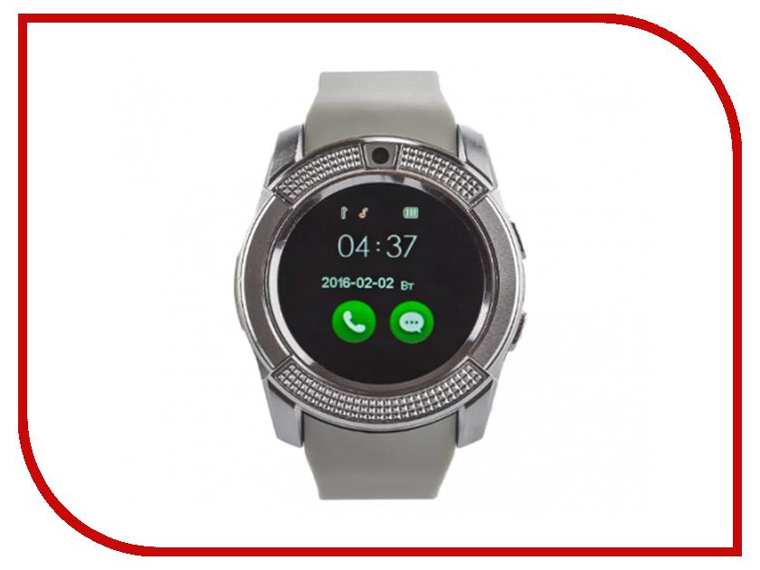 Умные часы ZDKV8Silver умные часы каркам a9 silver