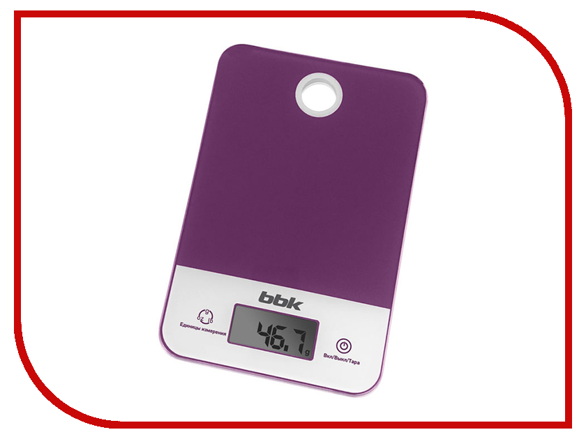 Весы BBK KS109G Purple