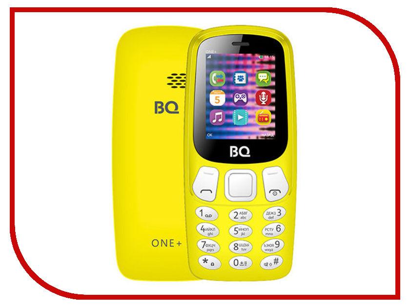 Сотовый телефон BQ BQ-1845 One+ Yellow телефон bq 1810 pixel
