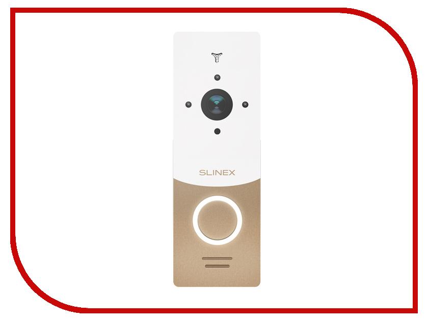 Вызывная панель Slinex ML-20HR Gold-White видеодомофон slinex sl 10ip silver white