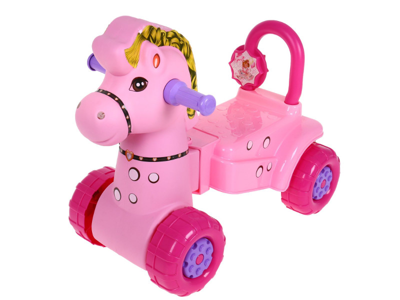 Каталка Альтернатива Лошадка М3896 Pink