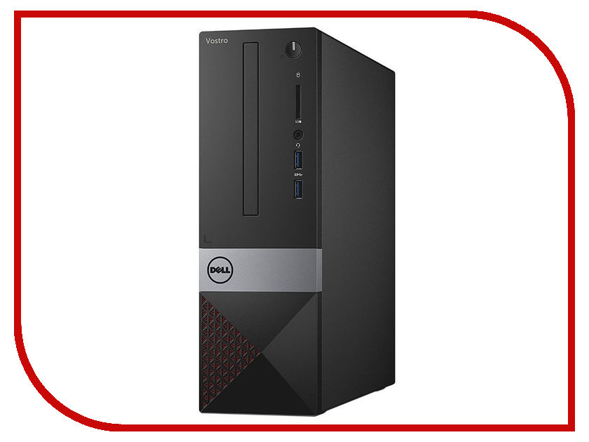 Настольный компьютер Dell Vostro 3267 SFF Black 3267-5076 (Intel Pentium G4400 3.3 GHz/4096Mb/1000Gb/Intel HD Graphics/LAN/Linux) gusti gsb 3267