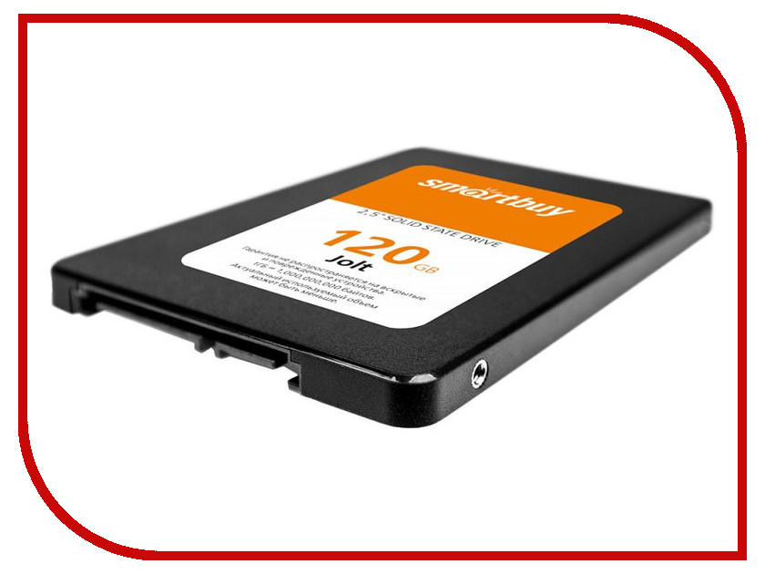 Жесткий диск SmartBuy Jolt 120 GB (SB120GB-JLT-25SAT3) жесткий диск 120gb smartbuy s11 sb120gb s11 25sat3