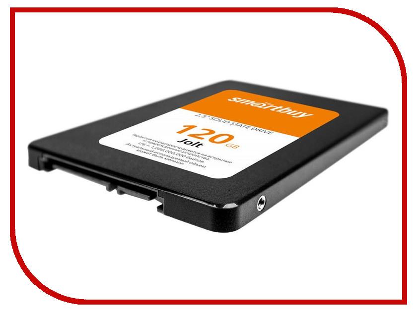 Жесткий диск SmartBuy Jolt 120 GB (SB120GB-JLT-25SAT3) жесткий диск 120gb smartbuy revival 2 sb120gb rvvl2 25sat3