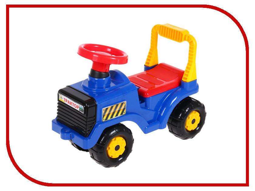 Каталка Альтернатива Трактор Blue 1188415 альтернатива м1681