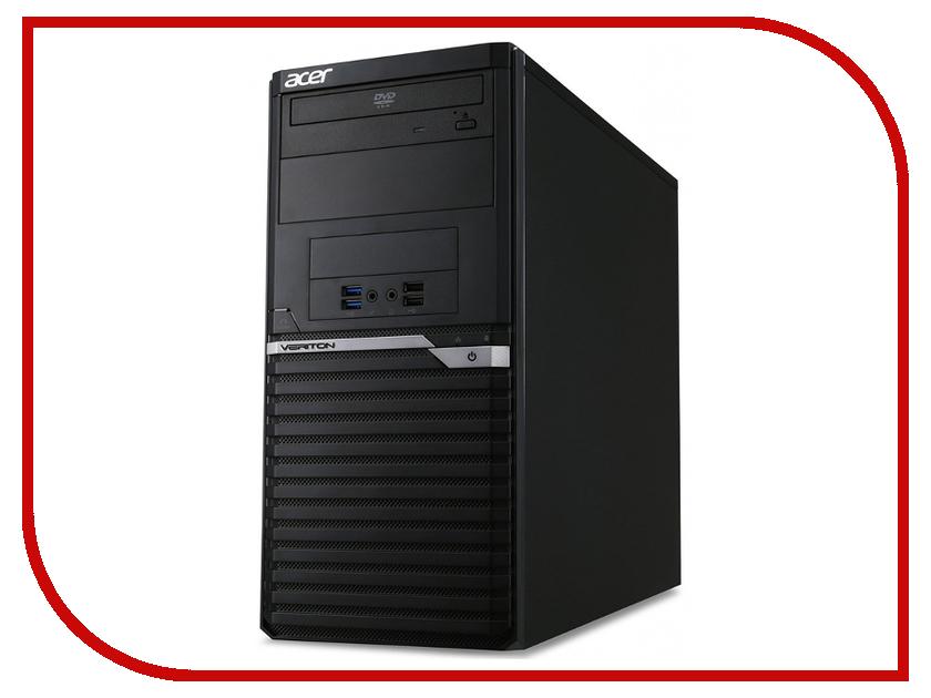 Настольный компьютер Acer Veriton M2640G MT Black DT.VPPER.143 (Intel Core i5-7500 3.4 GHz/8192Mb/1000Gb/DVD-RW/Intel HD Graphics/LAN/DOS) моноблок acer veriton z4640g intel celeron g3930 4гб 500гб intel hd graphics 610 dvd rw free dos черный [dq vpger 058]