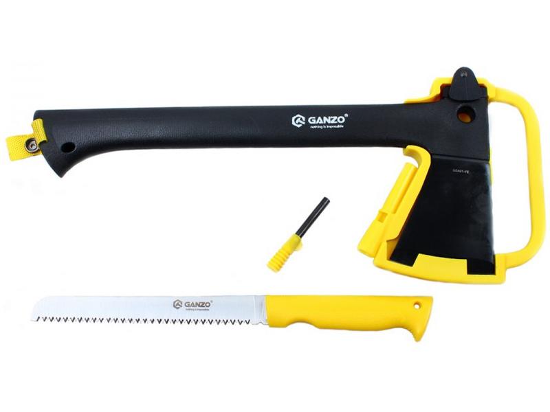 Топор Ganzo GSA01 Black-Yellow
