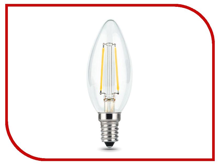 Лампочка Gauss LED Filament E14 5W 2700К 1/20 103801105T 3шт цена