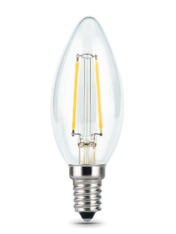 Лампочка Gauss LED Filament E14 5W 2700К 1/20 103801105T 3шт