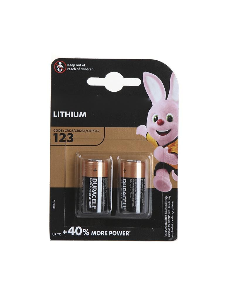 Батарейка CR123A - Duracell Ultra BL2 (2 штуки)