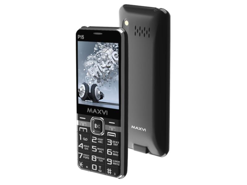 Сотовый телефон Maxvi P15 Black