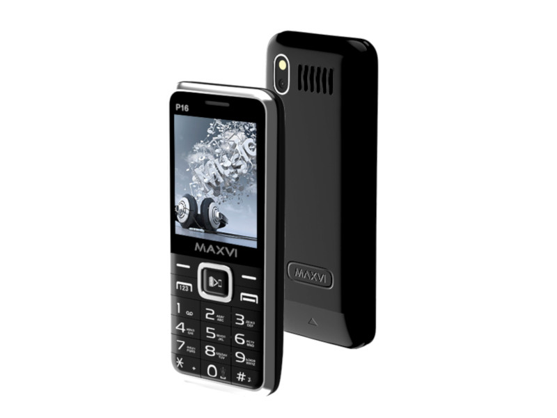 Сотовый телефон Maxvi P16 Black сотовый телефон maxvi c20 black