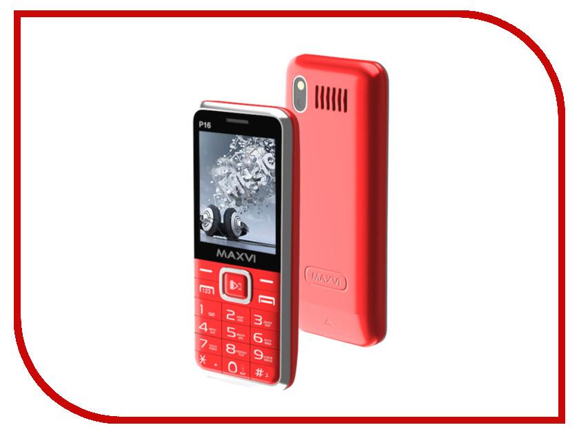 Сотовый телефон Maxvi P16 Red