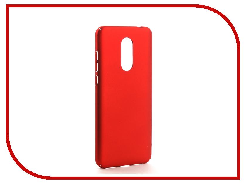 Аксессуар Чехол Xiaomi Redmi 5 Plus Neypo Soft Touch Red ST3520