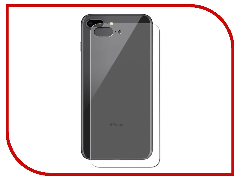 Аксессуар Защитное стекло для Apple iPhone 8 Plus Neypo Tempered Glass Back NPG3410 protective crystal pearl w crystalplastic back case for iphone 4 4s silver white