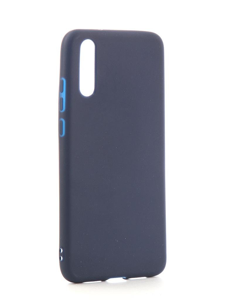 Аксессуар Чехол Neypo для Huawei P20 Soft Matte Silicone Dark Blue NST4296 аксессуар чехол neypo для nokia 6 1 plus x6 2018 soft matte dark blue nst6132