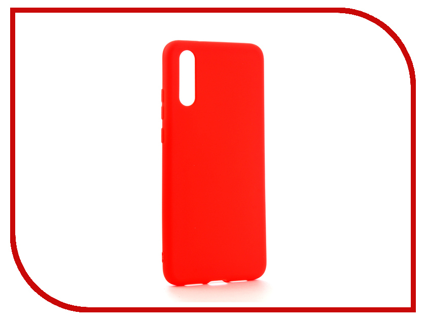 Аксессуар Чехол для Huawei P20 Neypo Soft Matte Silicone Red NST4297
