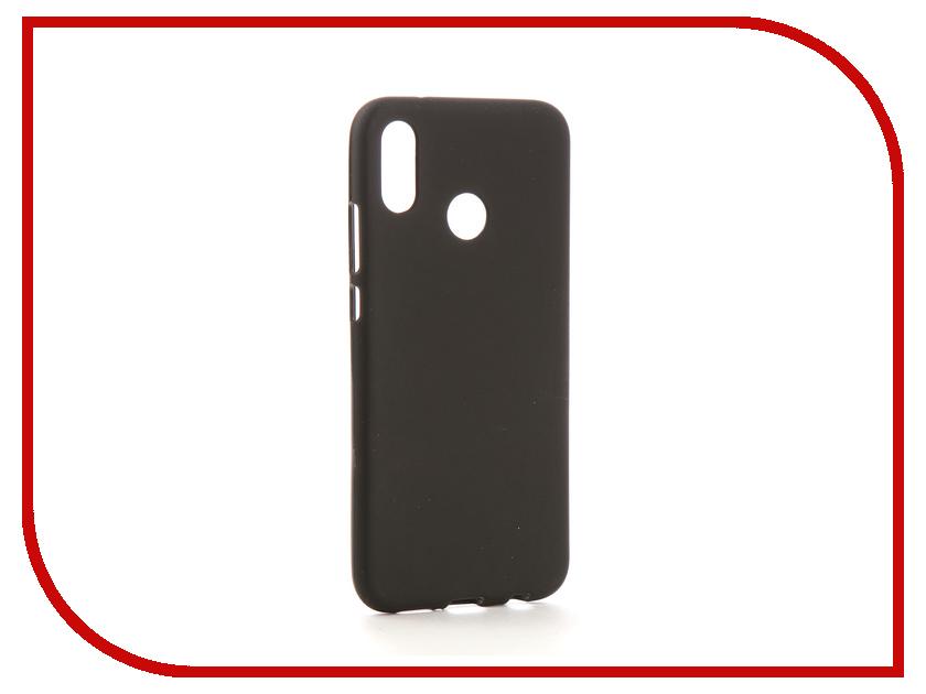 Аксессуар Чехол для Huawei P20 Lite Neypo Soft Matte Silicone Black NST4207 huawei p8 lite