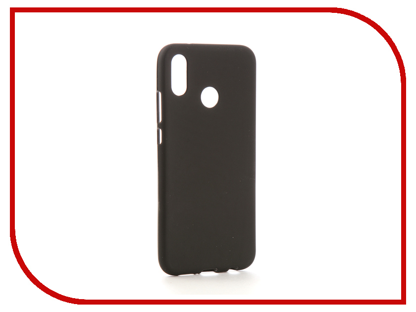Аксессуар Чехол для Huawei P20 Lite Neypo Soft Matte Silicone Black NST4207 аксессуар чехол для huawei p20 neypo soft touch red st4374