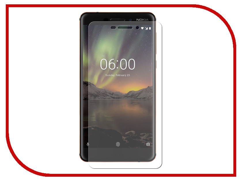 Аксессуар Защитное стекло Nokia 6 2018 Neypo Tempered Glass NPG4261 аксессуар защитное стекло nokia 6 luxcase 0 33mm 82198