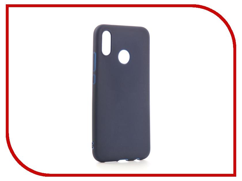 Аксессуар Чехол для Huawei P20 Lite Neypo Soft Matte Silicone Dark Blue NST4290 аксессуар чехол для huawei p20 neypo soft touch red st4374