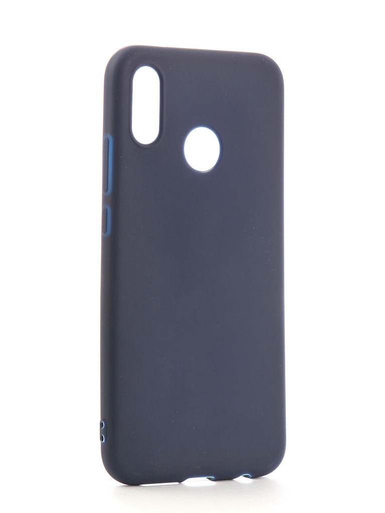 Аксессуар Чехол Neypo для Huawei P20 Lite Soft Matte Silicone Dark Blue NST4290 аксессуар чехол neypo для samsung galaxy s10 lite soft matte silicone dark blue nst7207