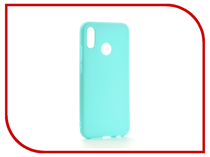 Аксессуар Чехол для Huawei P20 Lite Neypo Soft Matte Silicone Turquoise NST4291 аксессуар чехол для huawei p20 pro neypo brilliant silicone purple crystals nbrl4566