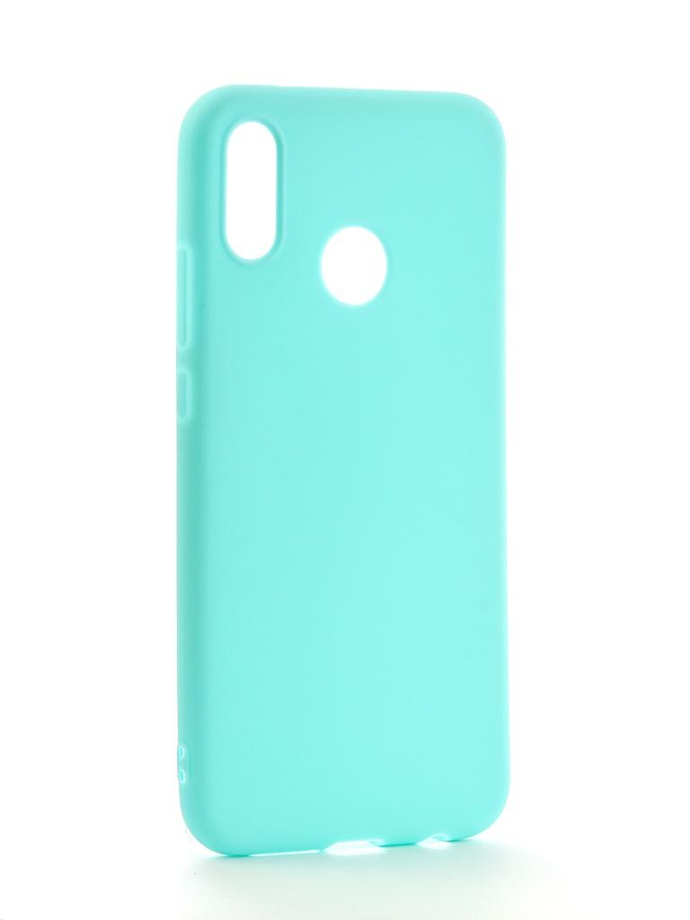 Аксессуар Чехол Neypo для Huawei P20 Lite Soft Matte Silicone Turquoise NST4291 чехол для сотового телефона gosso cases для huawei p20 lite soft touch 186905 темно синий