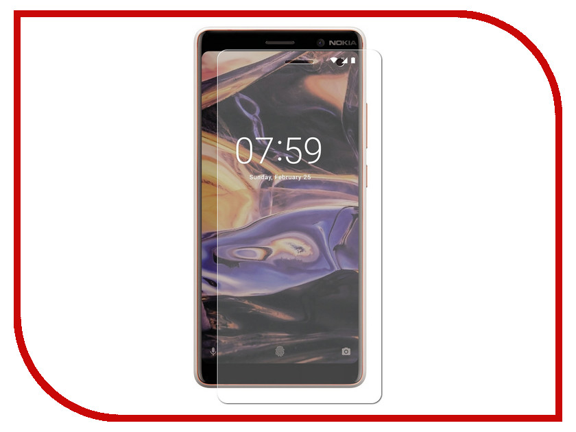 Аксессуар Защитное стекло для Nokia 7 Plus Neypo Tempered Glass NPG4195 nokia 5
