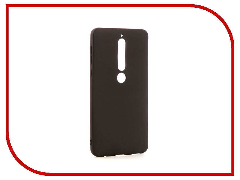 Аксессуар Чехол для Nokia 6 2018 Neypo Soft Matte Silicone Black NST4301 protective matte frosted back case for htc one x s720e black