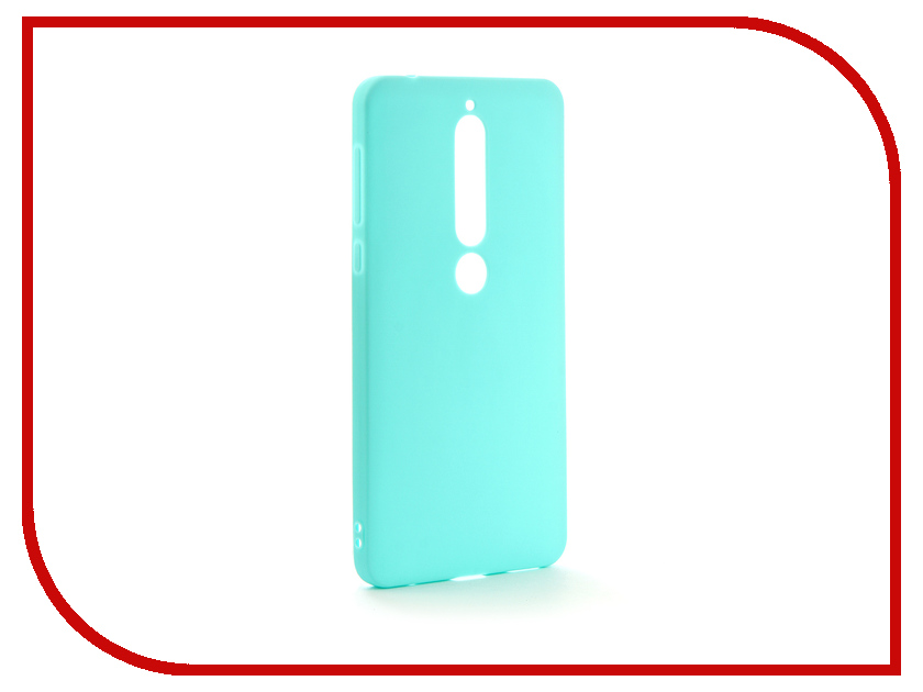 Аксессуар Чехол для Nokia 6 2018 Neypo Soft Matte Silicone Turquoise NST4298 аксессуар чехол для samsung galaxy a5 2017 neypo soft matte silicone black nst0214