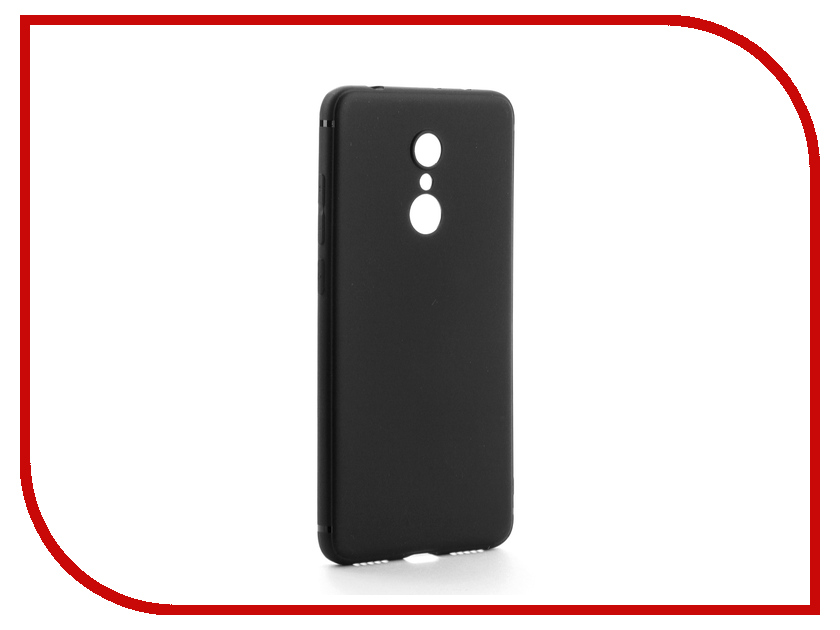 Аксессуар Чехол для Xiaomi Redmi 5 Neypo Silicon Neon Black NST3662 аксессуар чехол samsung galaxy a8 2018 neypo silicon neon black nstn3707