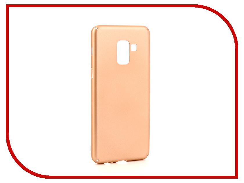 Аксессуар Чехол для Samsung Galaxy A8 2018 Neypo Soft Touch Gold ST3766 dc power supply uni trend utp3704 i ii iii lines 0 32v dc power supply