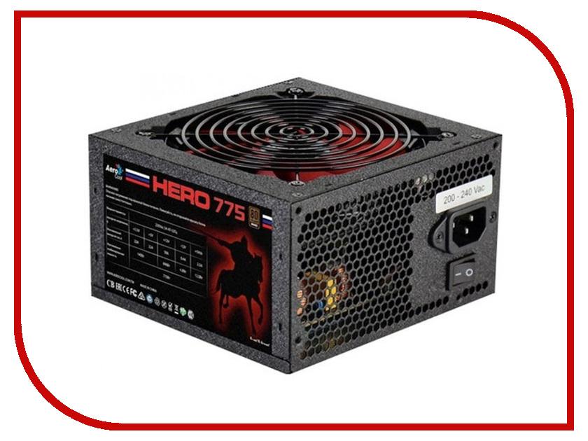 Блок питания AeroCool Hero 775W универсальный фиксатор шкива jtc 4755