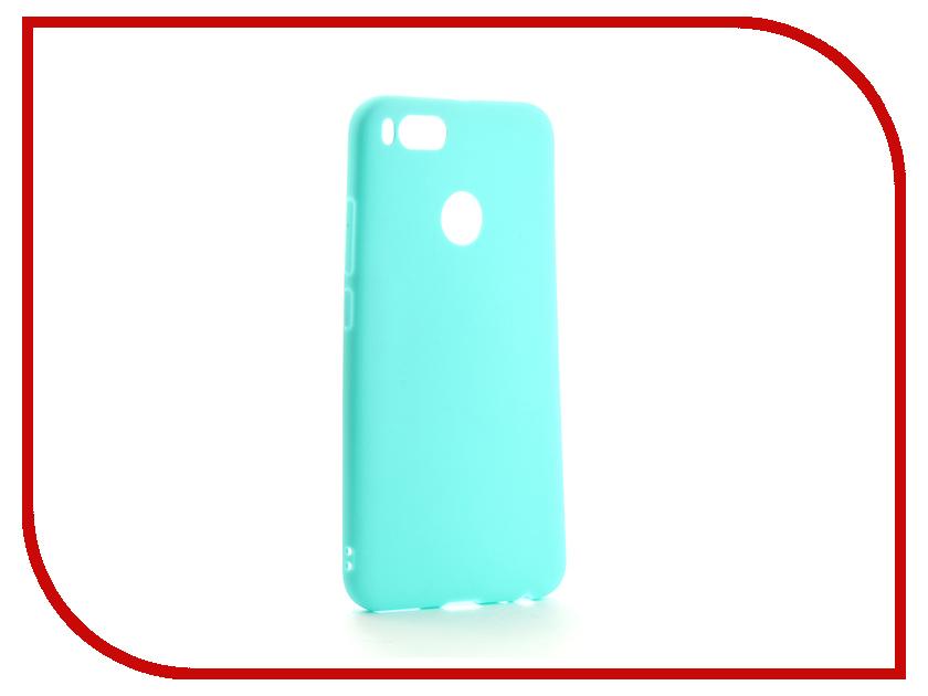 Аксессуар Чехол для Xiaomi Mi A1 Mi 5X Neypo Silicon Soft Matte Turquoise NST3353 аксессуар чехол для xiaomi mi max 2 pero soft touch black prstc mmax21b