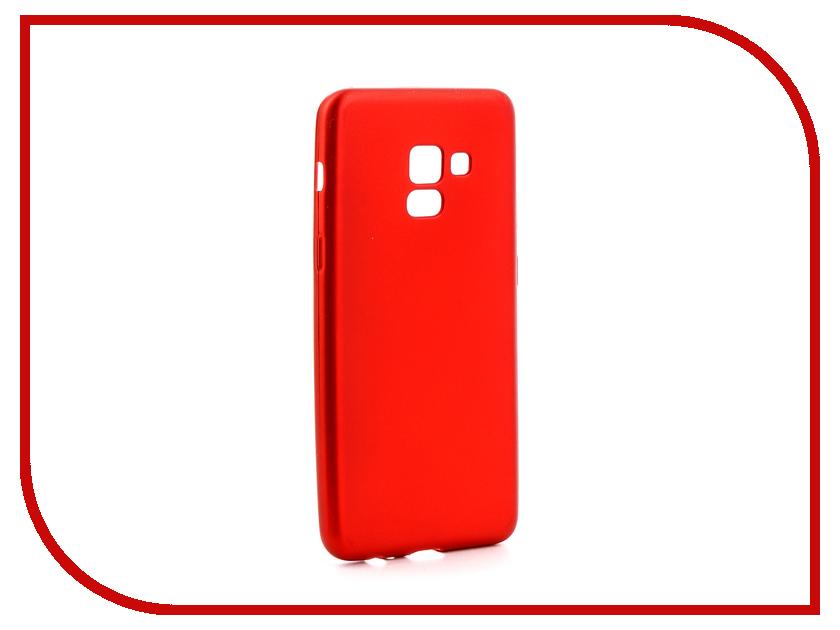 Аксессуар Чехол для Samsung Galaxy A8 2018 Neypo Silicon Neon Red NSTN3706 аксессуар чехол samsung galaxy a8 2018 neypo silicon neon black nstn3707