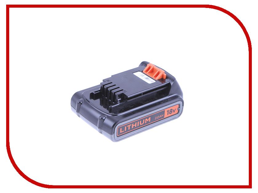 Аккумулятор для газонокосилки Black+Decker Li-Ion 18V 2.0Ah BL2018-XJ