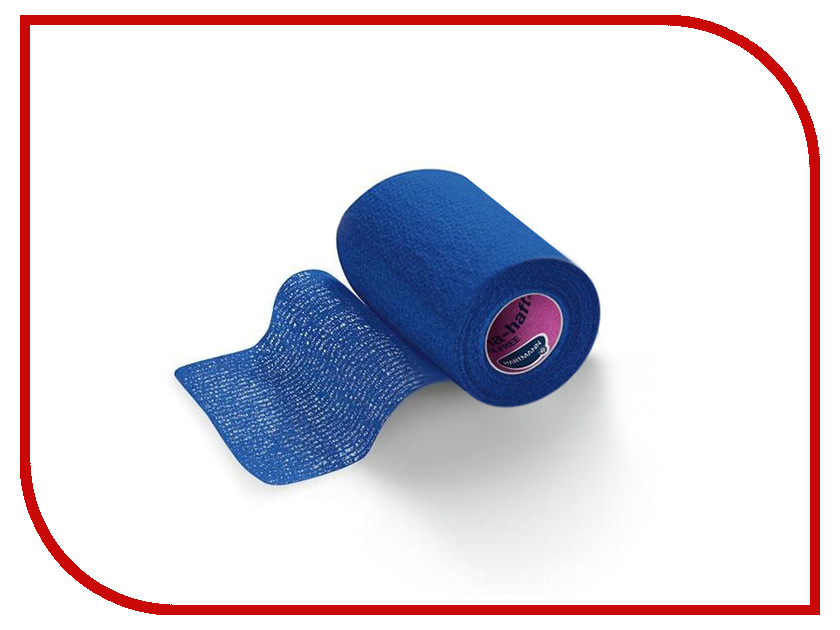Самофиксирующийся эластичный бинт Hartmann Peha-Haft 4m x 8cm Blue бинт peha haft 4 м 10 см белый самофиксирующийся