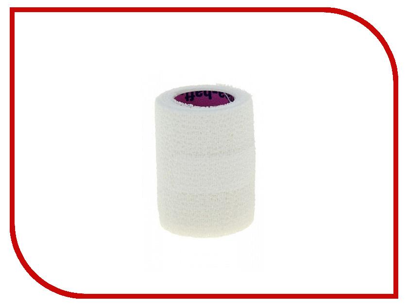 Самофиксирующийся эластичный бинт Hartmann Peha-Haft 4m x 6cm White retro rounded jacquard 6cm width design tie