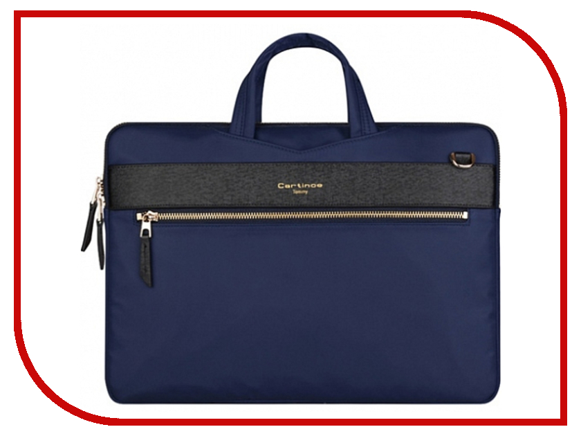 Аксессуар Сумка 13-inch Cartinoe Tommy Series для Macbook 13 Blue 904385 аксессуар сумка 13 inch ddc eco series для macbook 13 black 904554
