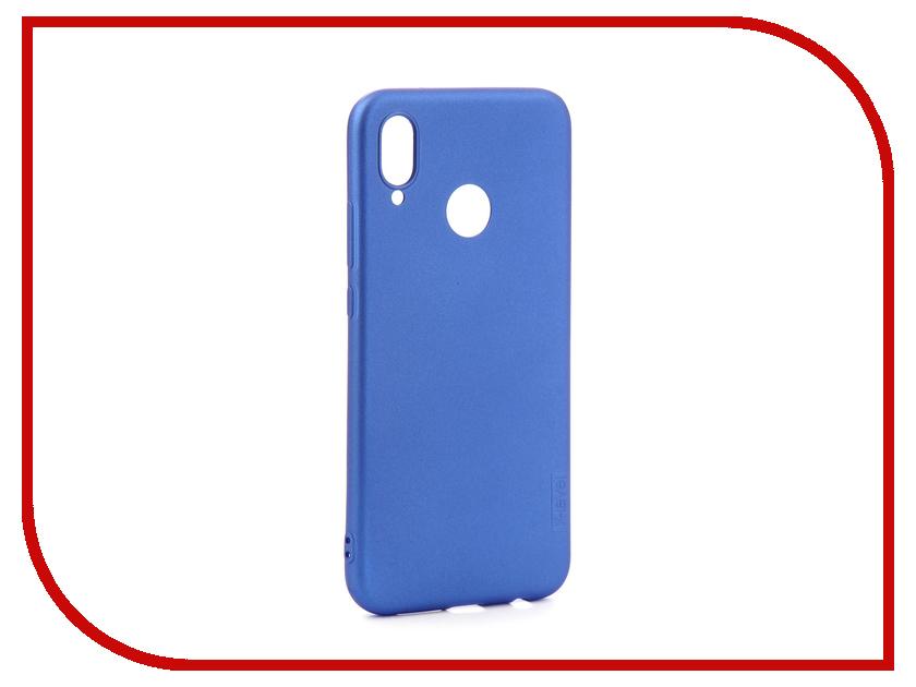 Аксессуар Чехол для Huawei Honor P20 Lite X-Level Guardian Series Blue 2828-129