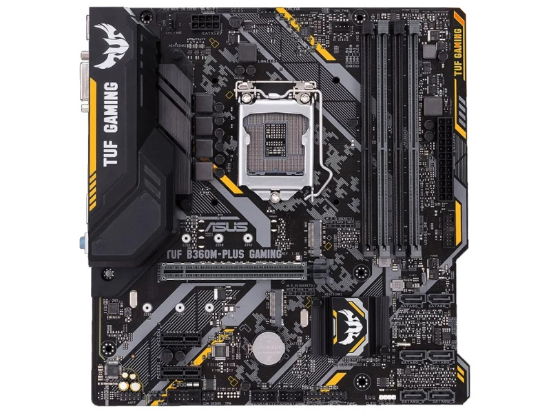 Материнская плата ASUS TUF B360M-PLUS GAMING asus tuf x470 plus gaming