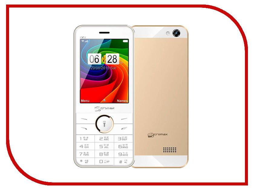 Сотовый телефон Micromax X913 Champagne мобильный телефон micromax x913 черный 2 8